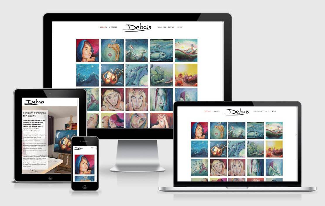 Site internet Artiste peintre par Laurent Chabaud