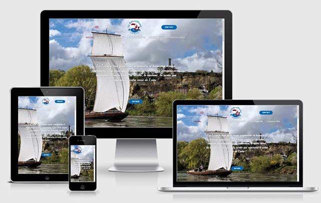 Création site web La Rabouilleuse par Laurent Chabaud, Aubenas, Ardèche