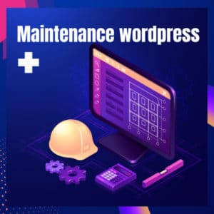 Maintenance wordpress +