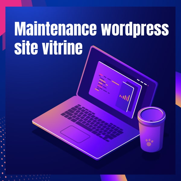 Maintenance wordpress site vitrine