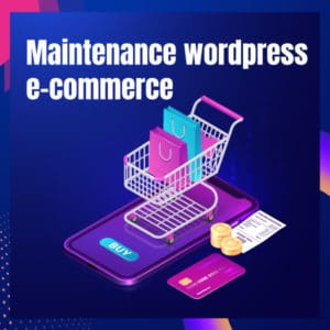Maintenance woocommerce